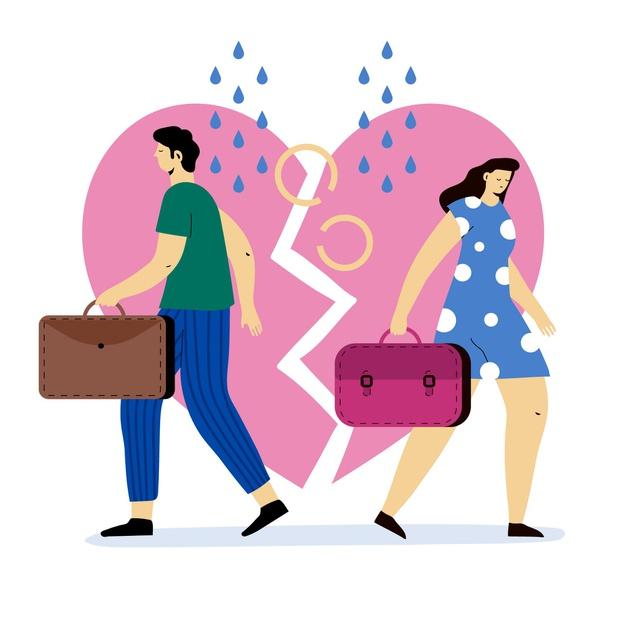 Les processus de partage des biens en cas de divorce